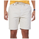 Nautica Mens Modern-Fit Canvas Casual Chino Shorts