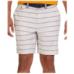 Nautica Mens Modern-Fit Oxford Casual Walking Shorts