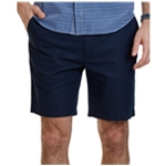 Nautica Mens Cotton Linen Blend Casual Walking Shorts