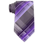 Geoffrey Beene Mens Fearless Plaid Necktie