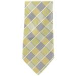 Geoffrey Beene Mens Sunlaid Grid Necktie