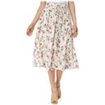J.O.A. Womens Belt A-line Skirt