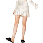 J.O.A. Womens Flounce-Hem Mini Skirt