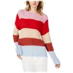 J.O.A. Womens Multi Stripe Knit Sweater