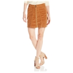 Buffalo David Bitton Womens Corduroy A-line Skirt