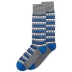 Alfani Mens Building-Stripe Midweight Socks