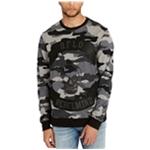 Buffalo David Bitton Mens Camouflage Applique Sweatshirt