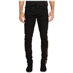 Buffalo David Bitton Mens Ash-X Camo Side-Stripe Slim Fit Jeans
