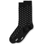 bar III Mens Micro-Dot Midweight Socks