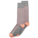 Alfani Mens Box Grid Midweight Socks