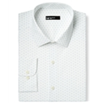 bar III Mens Dotted Button Up Dress Shirt