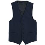 Marc New York Mens Solid Five Button Vest