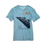 CAVI Mens Luxury Craft Yacht Graphic T-Shirt