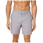 Calvin Klein Mens Zig-Zag Volley Swim Bottom Board Shorts