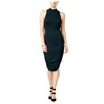 Chelsea Sky Womens Solid Bodycon Dress