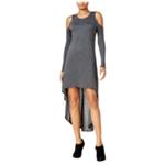 Chelsea Sky Womens Cold Shoulder A-line Dress