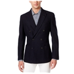 Michael Kors Mens Textured Double Breasted Blazer Jacket