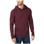 Michael Kors Mens Waffle-Knit Hoodie Sweatshirt