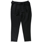 Avec Womens Tie-Waist Casual Trousers