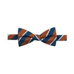 Countess Mara Mens Striped Bow Tie