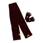 Top of the World Mens Golden Gophers Combo Scarf