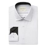 Con.Struct Mens Print Button Up Dress Shirt