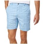 Con.Struct Mens Chambray Casual Chino Shorts