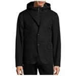 Michael Kors Mens Laser-Cut Hybrid Blazer Jacket