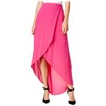 Chelsea Sky Womens Tulip Front Maxi Skirt