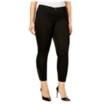 Celebrity Pink Womens Plus Size Solid Zip Skinny Fit Jeans