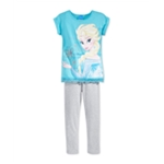 Disney Girls 2-Piece Leggings Graphic T-Shirt