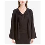 Max Studio London Womens Bell-Sleeve Cardigan Sweater