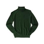 Jeanne Pierre Womens Solid Turtleneck Pullover Sweater