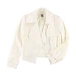Anne Klein Womens Linen Blazer Jacket