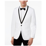 I-N-C Mens Beaded Shawl Collar One Button Blazer Jacket