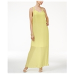 Thalia Sodi Womens Pleated Maxi Dress