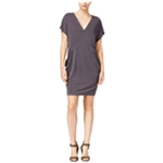 Rachel Roy Womens Draped Shift Dress
