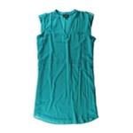 A. Byer Womens Sleeveless Shift Dress
