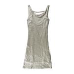 Matty M Womens Sequined 2 Fer A-line Tank Top Dress