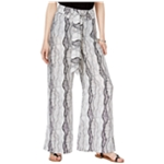 bar III Womens Printed Casual Wide Leg Pants