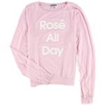 Dream Scene Womens Rose all day Sweatshirt