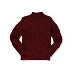 Karen Scott Womens Mock Marled Pullover Sweater