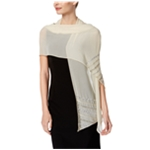 I-N-C Womens Diagonal Beaded Wrap