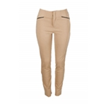 I-N-C Womens Faux Leather Casual Trousers