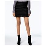 Michael Kors Womens Fringed Boucle Mini Skirt