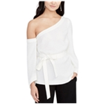 Rachel Roy Womens Pullover One Shoulder Blouse