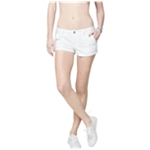 Aeropostale Womens Eyelet Casual Mini Shorts