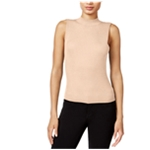 bar III Womens Ribbed Knit Blouse
