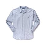 Ralph Lauren Mens Embroidered Button Up Dress Shirt