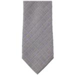 Kenneth Cole Mens Peter Grid Self-tied Necktie